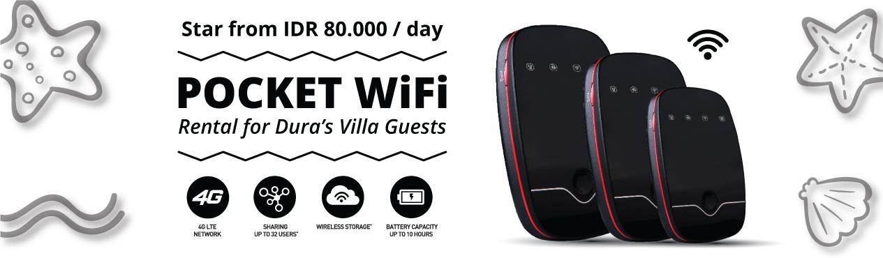 Dura Villas Bali Pocket WiFi